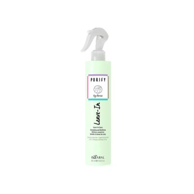 Распутывающий и увлажняющий спрей для нормальных и тонких волос Purify LEAVE-IN, 300ml