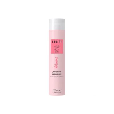Шампунь для объема  тонких волос с экстрактом бамбука и женьшеня Kaaral PURIFY VOLUME SHAMPOO, 100 ml