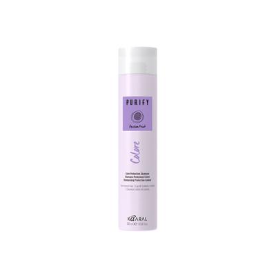 Шампунь для окрашенных волос с экстрактом и маслом маракуйи Kaaral PURIFY COLORE SHAMPOO, 300 ml