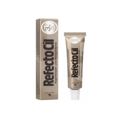 REFECTOCIL Краска для бровей и ресниц Eyelash and eyebrow tint №3.1, Светло-коричневый, 15ml