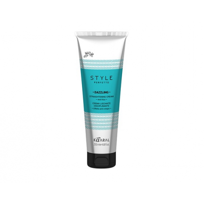 Выпрямляющим крем для волос Kaaral STYLE PERFETTO DAZZLING STRAIGTHENING CREAM, 250ml
