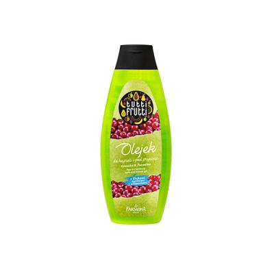 Гель-пена для ванны и душа Груша и Клюква Tutti Frutti, 100 ml