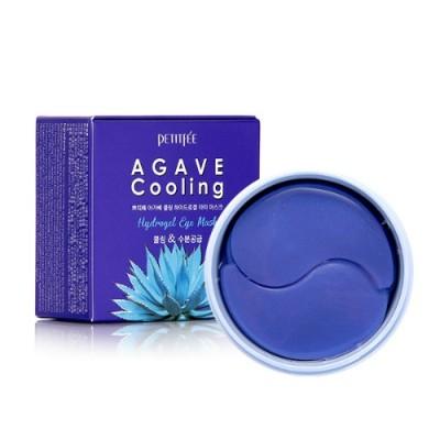 [PETITFEE] Набор патчей д/век гидрогел. АГАВА Agave Cooling Hydrogel Eye Mask, 60 шт