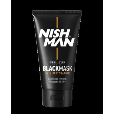 Черная маска для лица NISHMAN BlackMask 150 мл