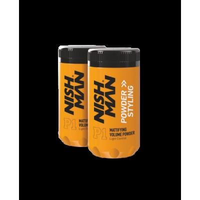 Пудра для укладки волос NISHMAN P1 Powder Styling 20 гр