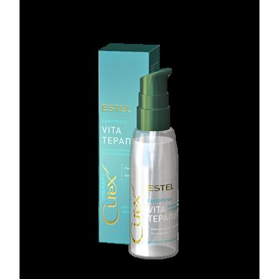 """Сыворотка """"Vita-терапия"""" для всех типов волос CUREX THERAPY, 100 мл"""